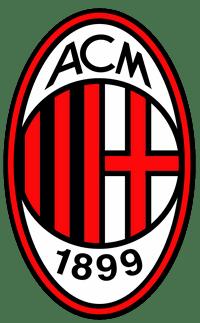 logo klubu ac milán fotbalovy kemp